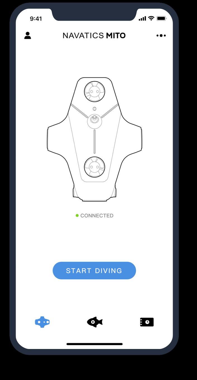 Navatics Underwater Drone-APP-03
