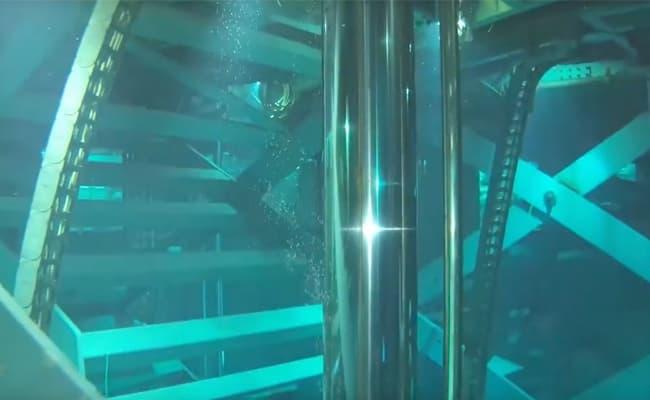 "MITO inspecting Cirque de Soleil ""O"" theatre"